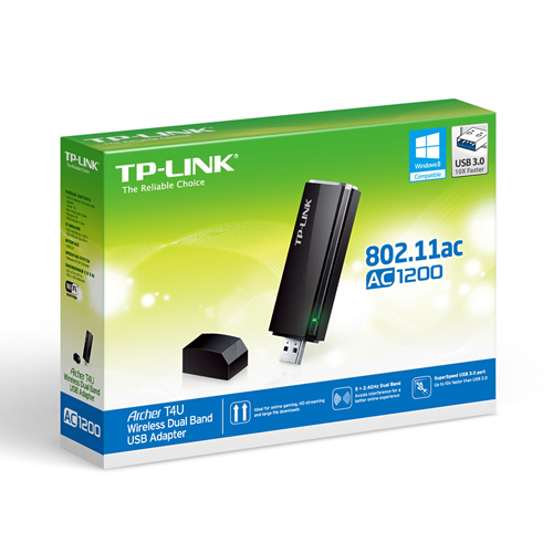 TP-LINK T4U ADAPTADOR USB WIRELESS DUAL BAND AC1200